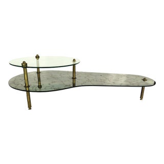 1970s Italian Mirrored Coffee Table For Sale