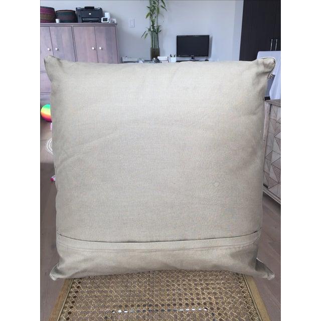 Traditional Turkish Kilim Pillow - Image 4 of 4