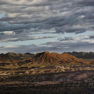 "Garrett Middaugh ""Tule Mountain"" Oil Painting For Sale"
