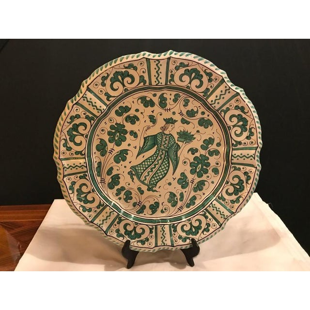 Neoclassical Italian Paint Decorated Platter For Sale - Image 3 of 12