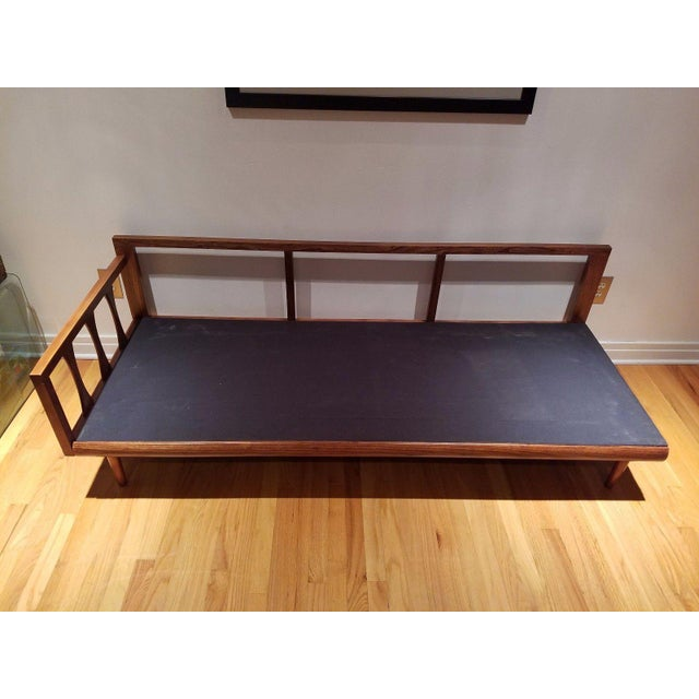 Mid Century Modern Vinyl Daybed / Loveseat - Image 10 of 11