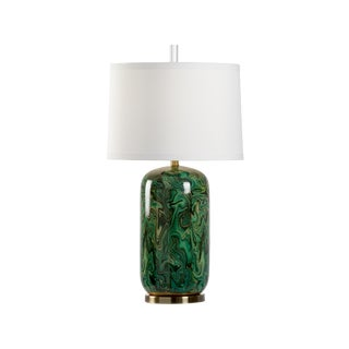 Newport Lamp, Emerald For Sale