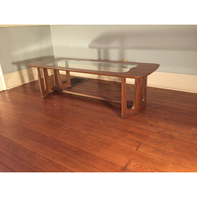 Bassett Brasilia Style Coffee Table For Sale In Detroit - Image 6 of 8