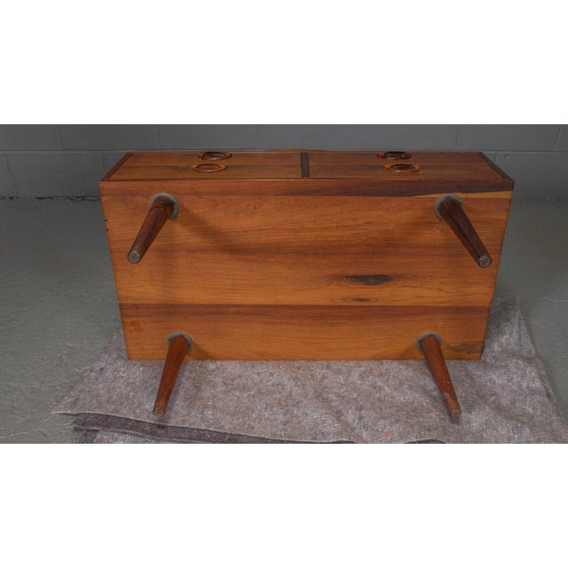 1950s Danish Modern Kai Kristiansen Rosewood Chest For Sale - Image 10 of 11
