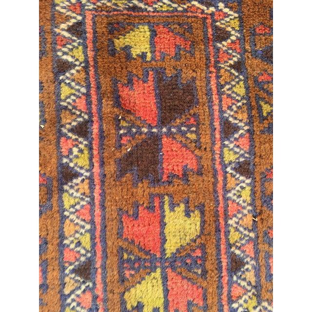 Handmade Persian Baluchi Rug - 2′4″ × 4′5″ - Image 6 of 9