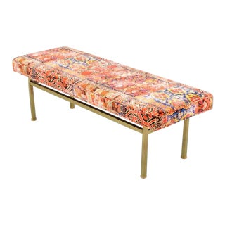 Harvey Probber Style Large Bench For Sale