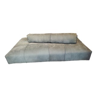 Baxter Panama Bold Rectangular Sofa With Cushion For Sale