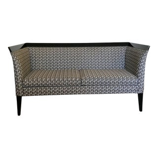 Viennese Secession Style Settee For Sale