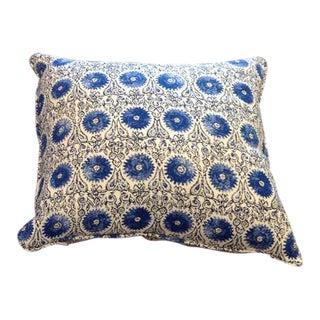 Custom Kravet Ikat Pillow For Sale