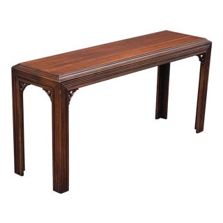 Lane Fluted Console Table For Sale