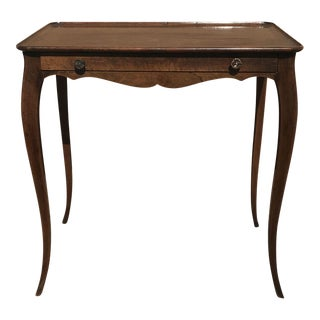 French Gallery Top Tray Table, 1920s