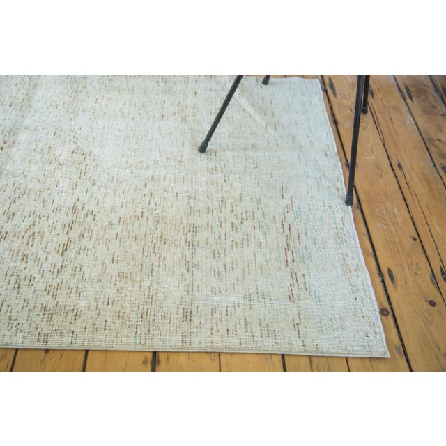 "Distressed Oushak Rug - 3'7 x 6'4"" - Image 4 of 7"