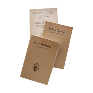 Vintage French Paperback Books - Set of 3 For Sale