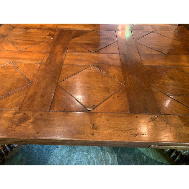 19th Century French Draw Leaf Table For Sale In Boston - Image 6 of 9