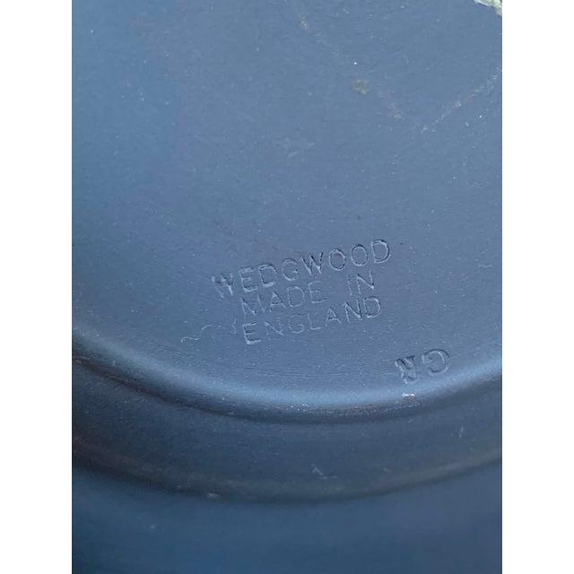1970s 1970s Wedgwood Portland Blue Jasperware Executive Ashtray For Sale - Image 5 of 7