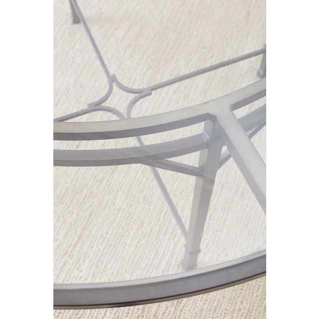 Richard Frinier for Brown Jordan Garden Patio Table For Sale - Image 9 of 13