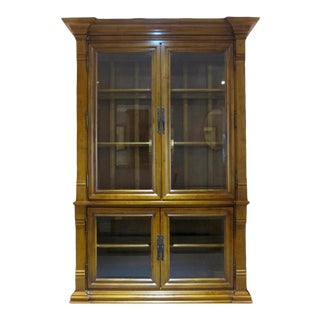Stately Display Cabinet, Bookcase For Sale