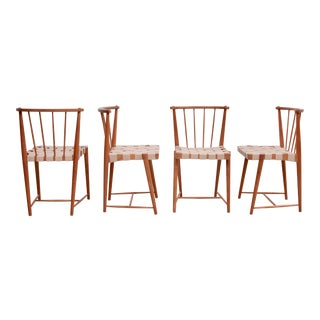 Set of Four Helmut Otepka Dining Chairs, Austria, 1952