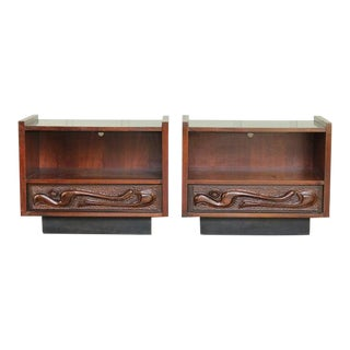 1960s Mid-Century Modern Witco Style Nightstands - a Pair For Sale