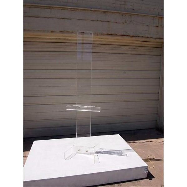 Modern Transparent Plexi-Glass Italian Easel - Image 3 of 4