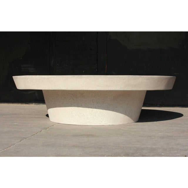 The Cashi cocktail table is one of our best selling tables. Pictured in our white stone finish, the texture and modern...