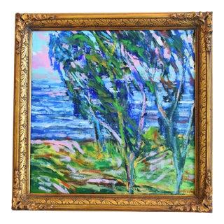 Original Juan Guzman Ventura Seascape Oil Painting For Sale