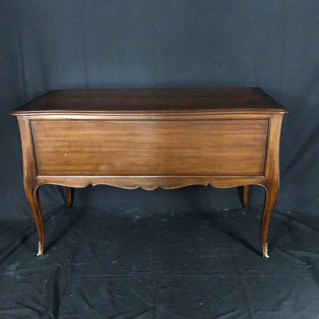 Kindel Louis XV Style Gilt Mounted Desk For Sale - Image 9 of 13