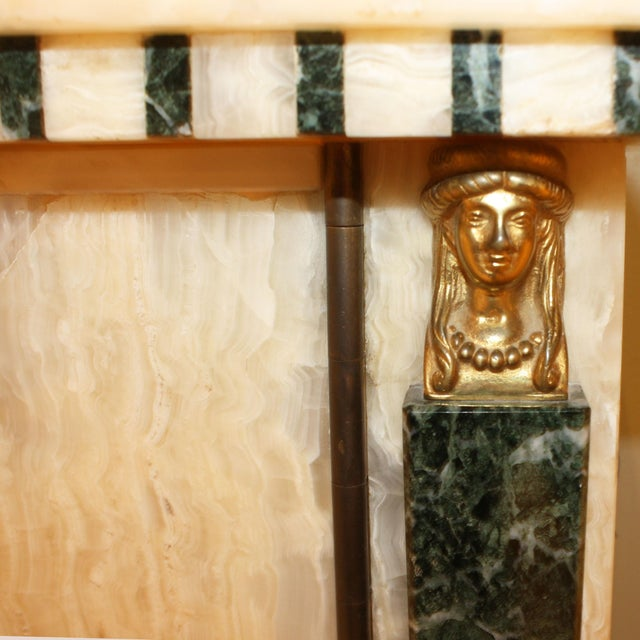 French French Onyx Commode C. 1950 For Sale - Image 3 of 7