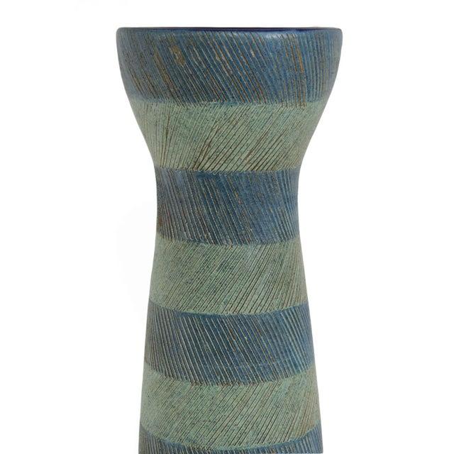 Bitossi for Raymor Walnut Base Vase - Image 5 of 6
