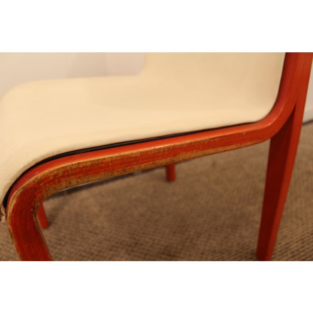 Knoll Bill Stevens Mid-Century Bentwood Side Chairs - A Pair For Sale In Philadelphia - Image 6 of 11