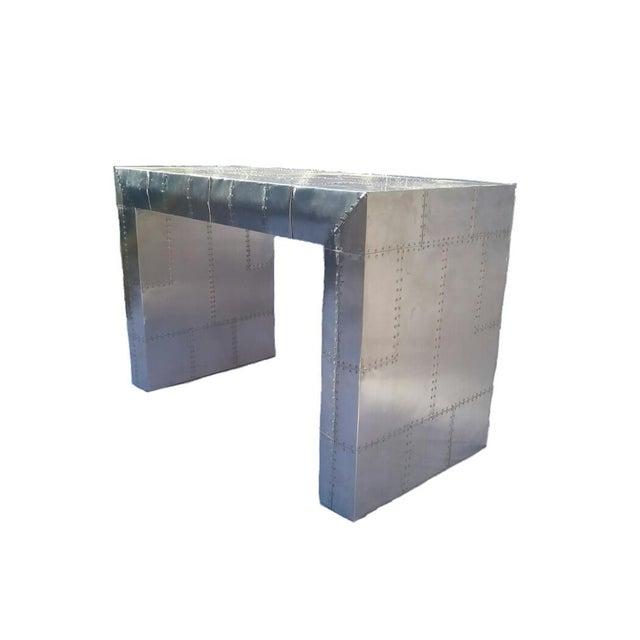 Aviator Sleek 2-Drawer Desk - Image 2 of 3
