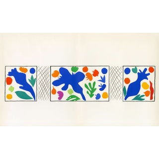 """Coquelicots"" Henri Matisse. From ""Verve Vol. 35/36"" (1958) For Sale"