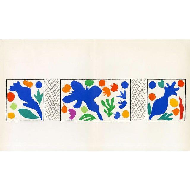 """""""Coquelicots"""" Henri Matisse. From """"Verve Vol. 35/36"""" (1958) For Sale"""