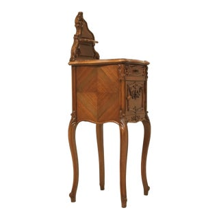 Antique French Louis XV Style Nightstand For Sale