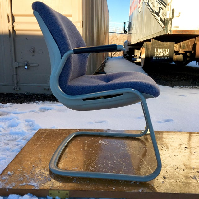 1980s Cantilever Armchair by Steelcase For Sale - Image 12 of 12