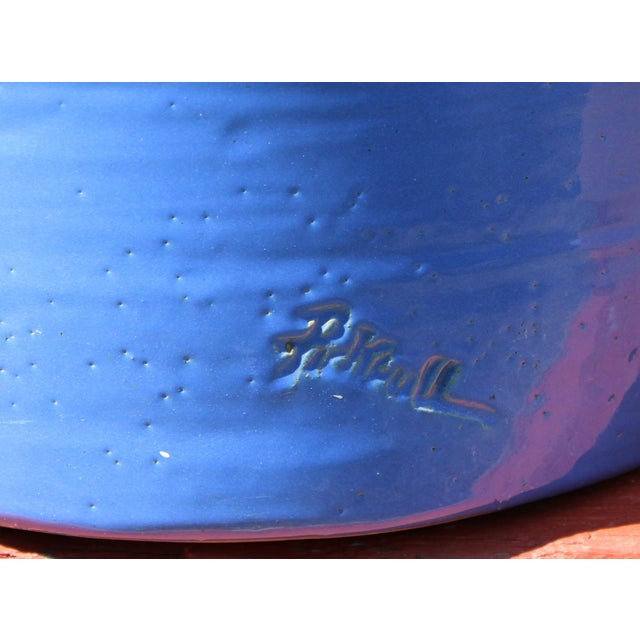 Huge Pickrull Zanesville Norwalk Pot Shop Urn Pottery Arts & Crafts Floor Vase For Sale In New York - Image 6 of 12