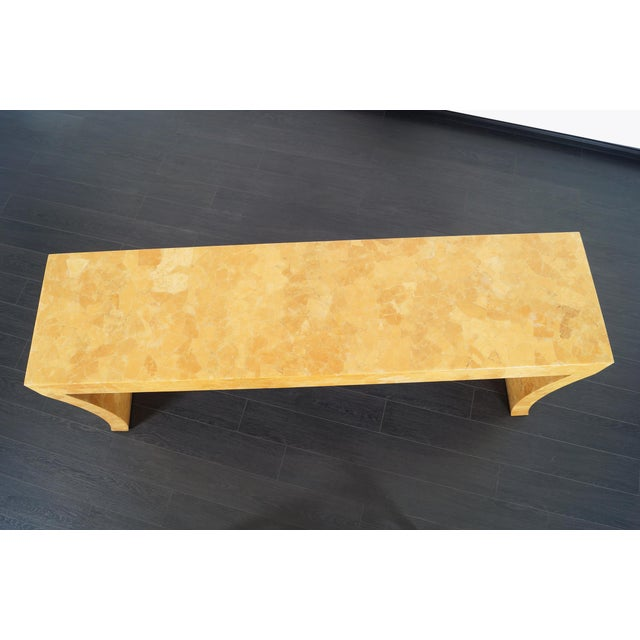 Wood Vintage Craquelure Console Table by Jimeco Itda For Sale - Image 7 of 9