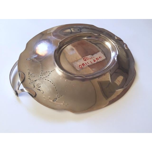 Victorian Church Bright Silver Communion Plate, Holiday Serving Tray - Image 10 of 10