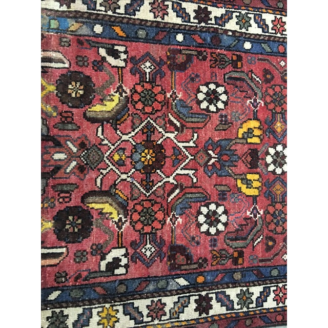 "Karajeh Persian Runner - 2'9"" x 9'9"" - Image 5 of 10"