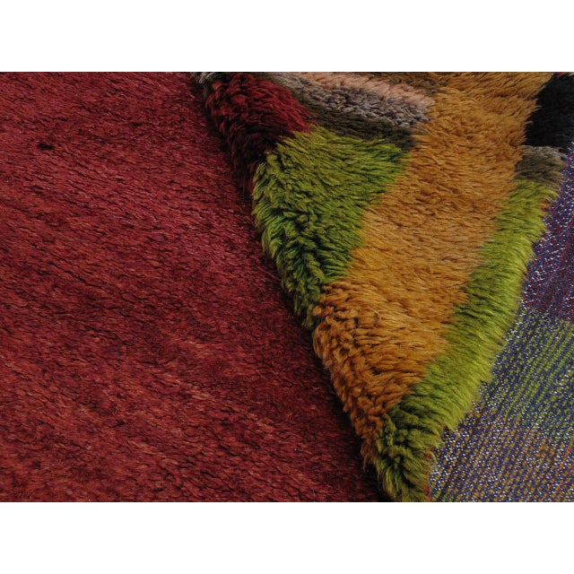 """""""Contemplation,"""" Tulu Rug For Sale In New York - Image 6 of 9"""
