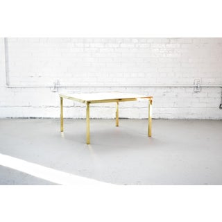 Vintage Hollywood Regency Brass and Capiz Shell Accent Table Attribited to Billy Haines Preview