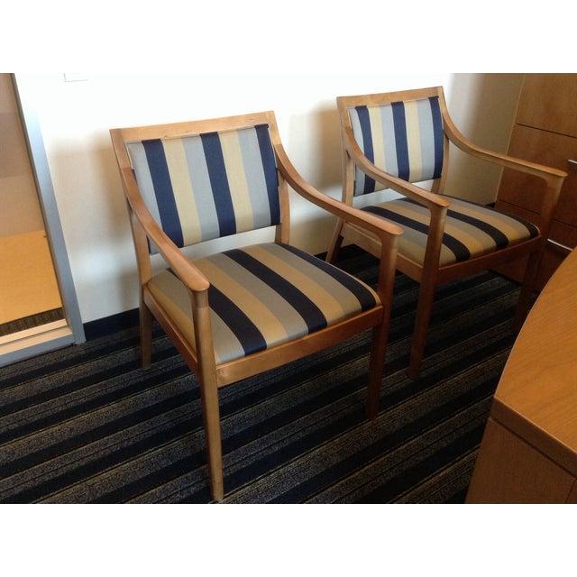 Bernhardt Carson Chairs - Pair - Image 3 of 7