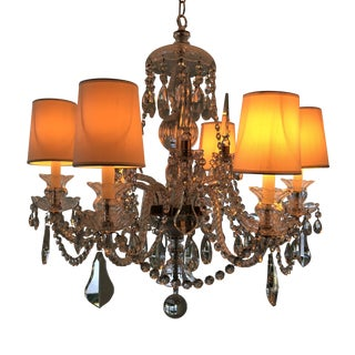 William Sonoma Home Crystal Chandelier