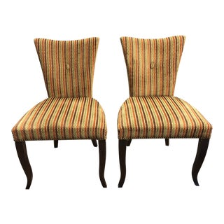 Barbara Barry Hbf Santa Barbara Side Chairs, a Pair For Sale