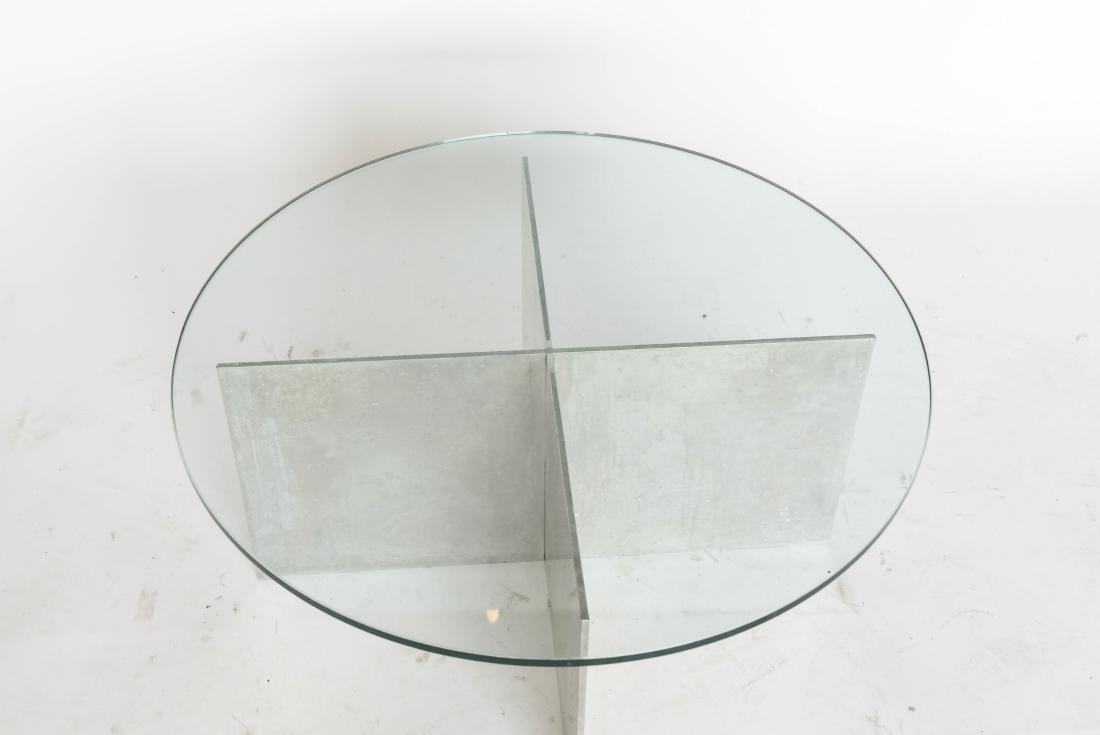 Paul Mayen For Habitat Minimalist Aluminium Coffee Table   Image 2 Of 5