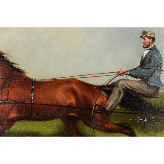 James Hill -19th Century Famous Horse Racing Oil Painting For Sale - Image 4 of 9