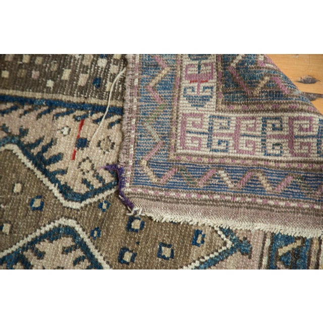 """Vintage Caucasian Square Rug - 3'6"""" x 4' For Sale - Image 10 of 10"""