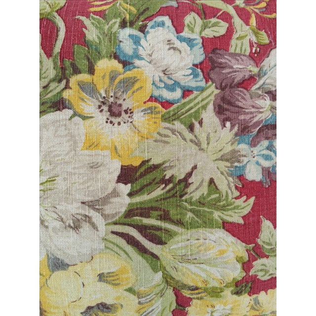 Vintage Liberty of London Floral Pillows - Image 3 of 5