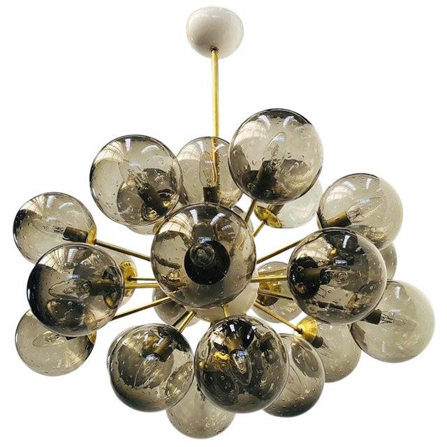 Ovale Sputnik Chandelier by Fabio Ltd For Sale