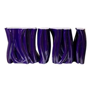 Covet Paris Monochrome Purple Sideboard For Sale